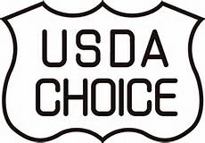 Black and White USDA Choice logo