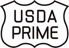 USDA Black and White Pime Logo