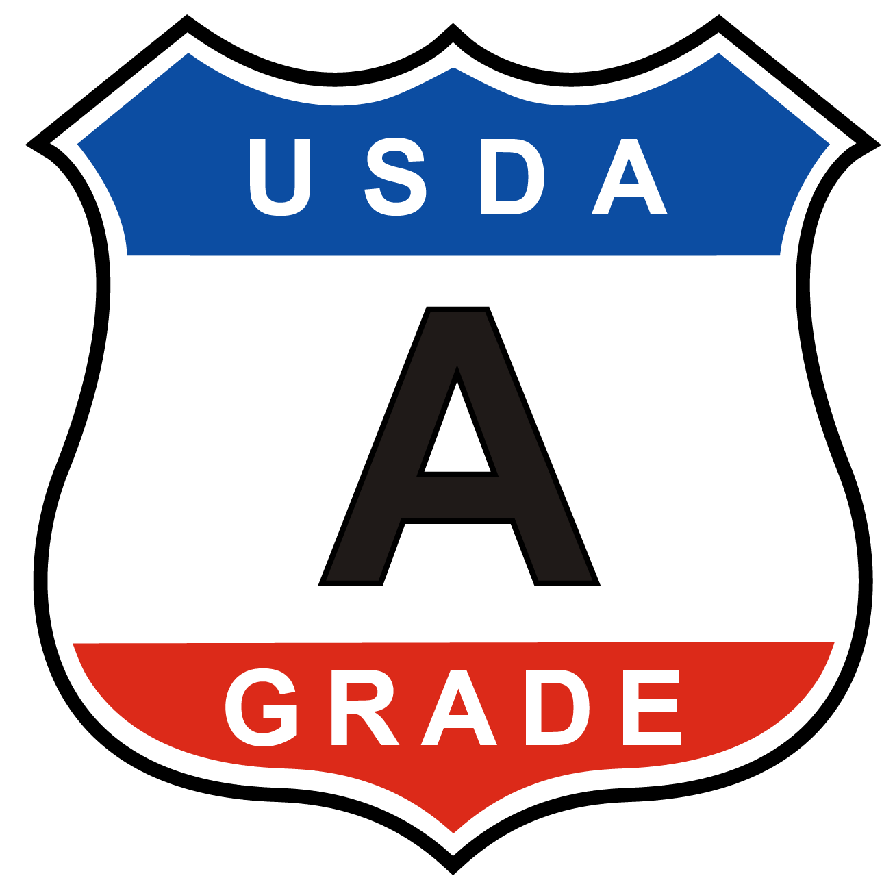 USDA Grade A Shield